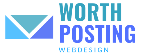 worthposting webdesign logo