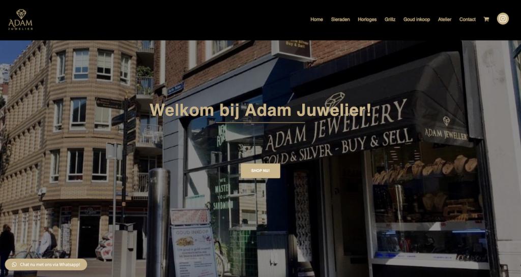 adam juwelier website