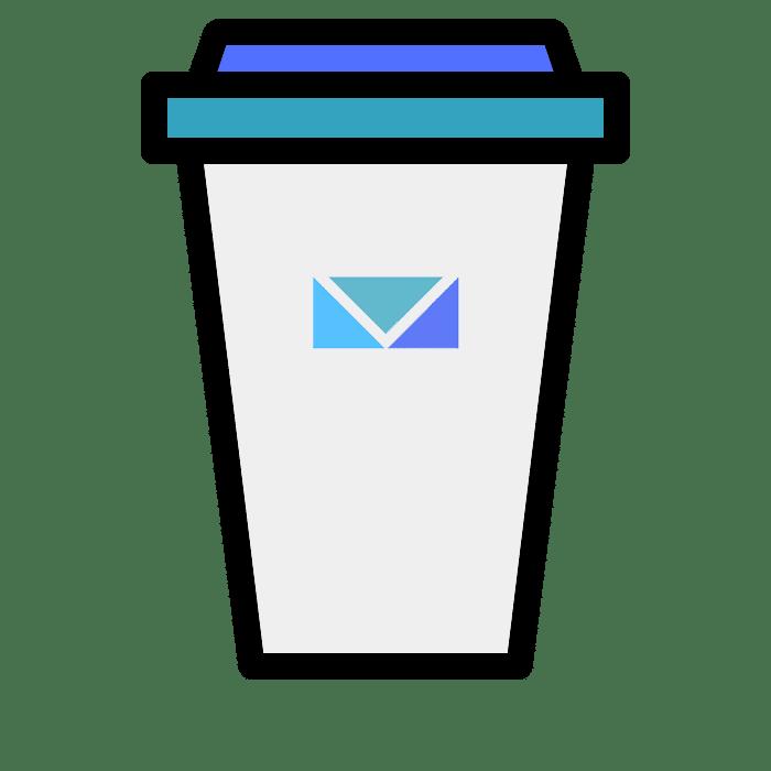 virtuele kop koffie worthposting webdesign